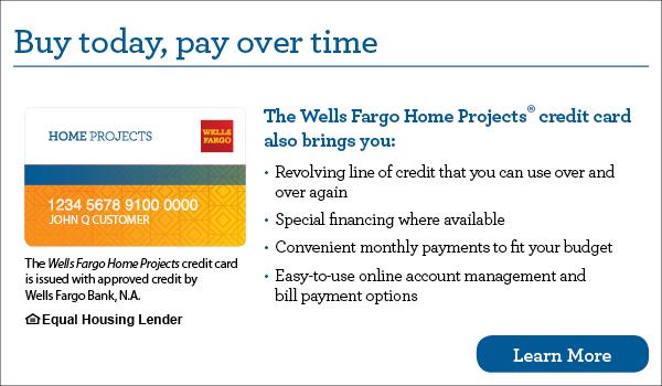 Long Air Wells Fargo Financing Options